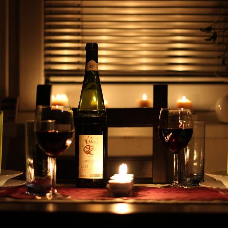 Recette pour souper romantique